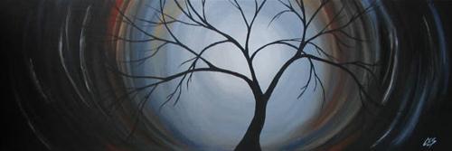 """Surrender"" original fine art by ~ces~ Christine E. S. Code"