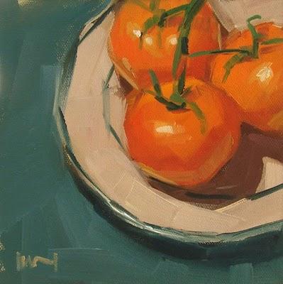 """On the Vine --- SOLD"" original fine art by Carol Marine"