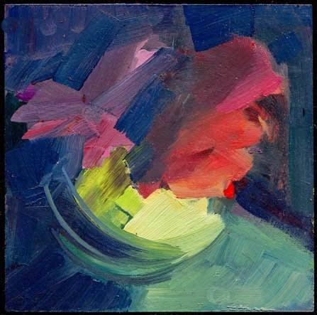 """1981 shape"" original fine art by Lisa Daria"