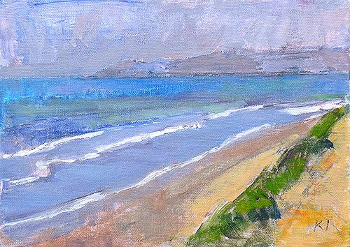 """Del Mar Sketch"" original fine art by Kevin Inman"
