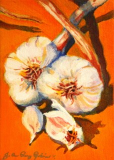 """Smells like Garlic"" original fine art by JoAnne Perez Robinson"