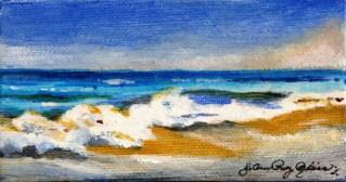 """""""Pacific Coast"""" original fine art by JoAnne Perez Robinson"""