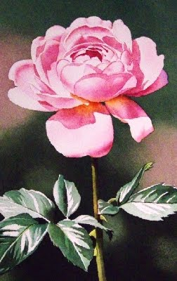 """Pinky!"" original fine art by Jacqueline Gnott, TWSA, WHS"