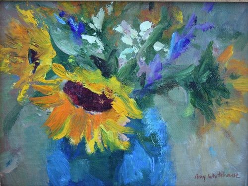 """Spring Bouquet Flower Paintings by Arizona Artist Amy Whitehouse"" original fine art by Amy Whitehouse"