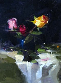 """""""Demo at Wilmington 2 --- Sold"""" original fine art by Qiang Huang"""