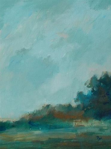 """""""All the Greenery"""" original fine art by Pamela Munger"""