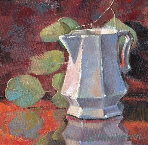 """Octagonal"" original fine art by Connie McLennan"