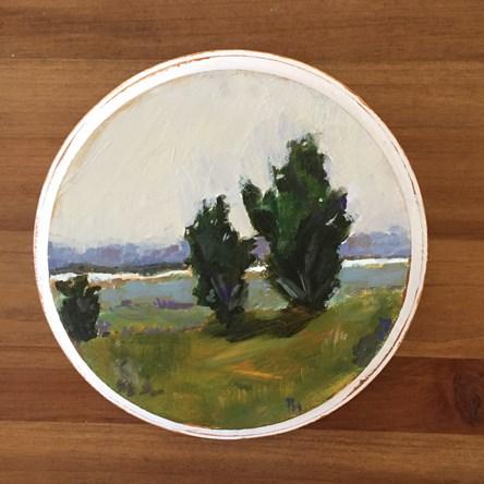 """""""Junipers"""" original fine art by Pamela Munger"""