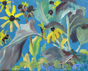 """Brown Eyed Susans"" original fine art by Darlene Young"