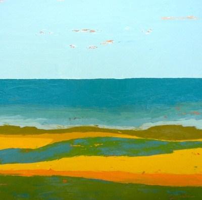 """All To Yourself Framed"" original fine art by Janet Bludau"
