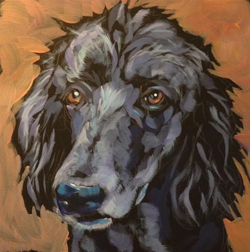 """""""July 7, Hank"""" original fine art by Kat Corrigan"""