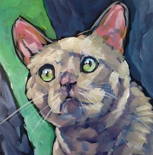 """""""March 20, Mouse"""" original fine art by Kat Corrigan"""