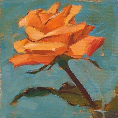 """""""One Last Goodbye --- SOLD"""" original fine art by Carol Marine"""
