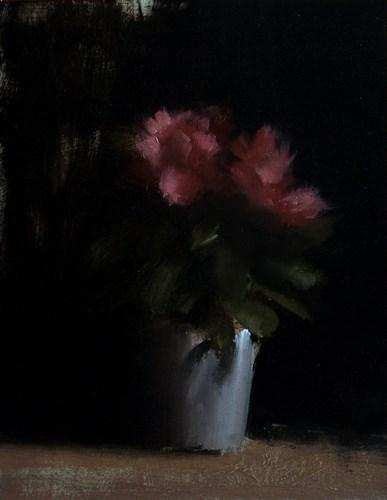 """Azalea Plant"" original fine art by Neil Carroll"