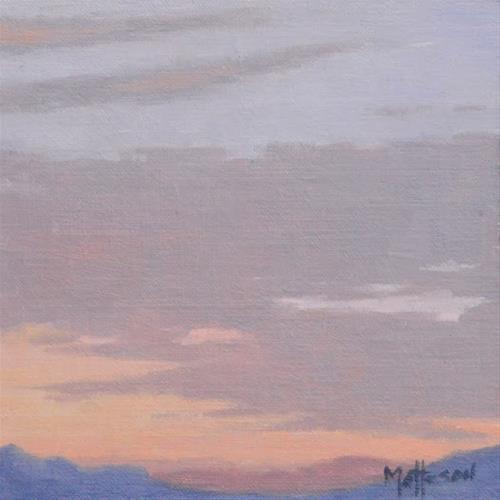 """""""Southwest Sunrise"""" original fine art by Susan Matteson"""