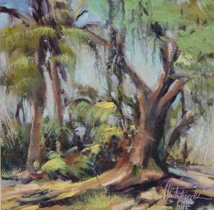 """Near Phillippi Creek"" original fine art by Christa Friedl"