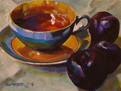 """""""TEA TIME"""" original fine art by Brian Cameron"""
