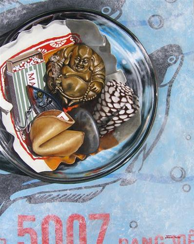 """""""Ingredients For A Successful Endeavor"""" original fine art by Jelaine Faunce"""