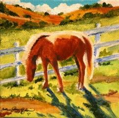 """Satori Horse"" original fine art by JoAnne Perez Robinson"