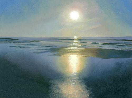 """RISING SUN"" original fine art by Nancy Herman"