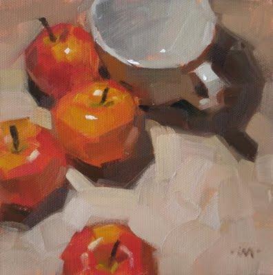 """Gathering Place"" original fine art by Carol Marine"