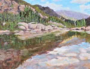 """Reflections of Colorado"" original fine art by Robert Frankis"