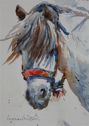"""Peekaboo"" original fine art by Lorraine Lewitzka"