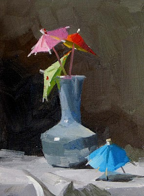 """Dancing Colors"" original fine art by Qiang Huang"