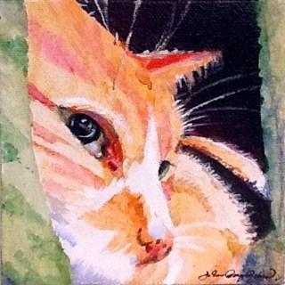"""Carpet Pad"" original fine art by JoAnne Perez Robinson"
