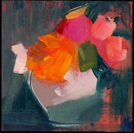 """2013 little cymbals"" original fine art by Lisa Daria"
