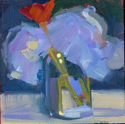 """1638 Confer"" original fine art by Lisa Daria"