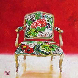 """lotus"" original fine art by Kimberly Applegate"
