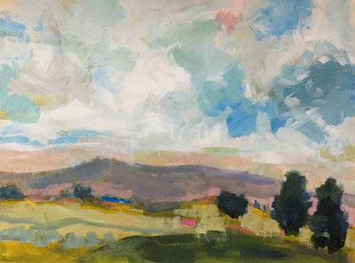 """Tenacious May"" original fine art by Pamela Munger"