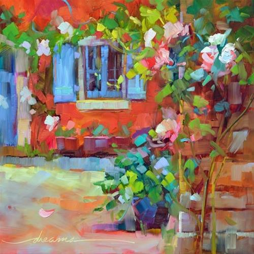 """""""Framed in Beauty"""" original fine art by Dreama Tolle Perry"""