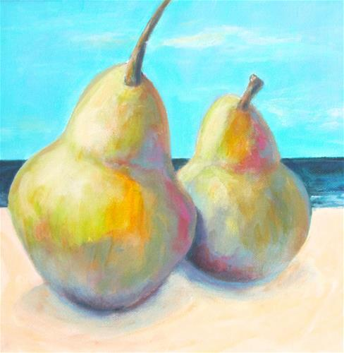 """Beach Babes"" original fine art by Patricia MacDonald"