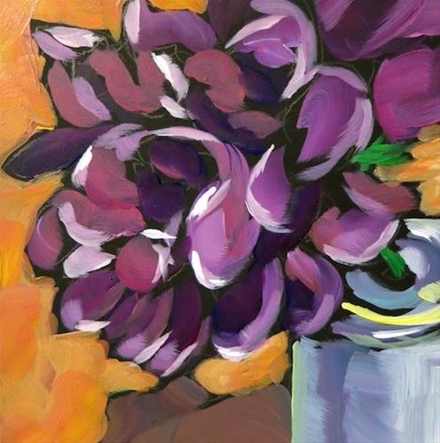 """""""Peonies #4"""" original fine art by Kat Corrigan"""