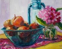 """Gray, gray go away"" original fine art by Maggie Flatley"