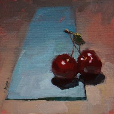 """Love on a Runway"" original fine art by Carol Marine"