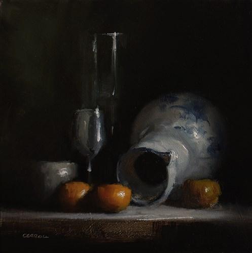 """""""Arrangement with Jug"""" original fine art by Neil Carroll"""