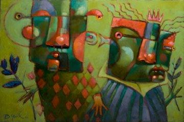 """Kindred Spirits"" original fine art by Brenda York"