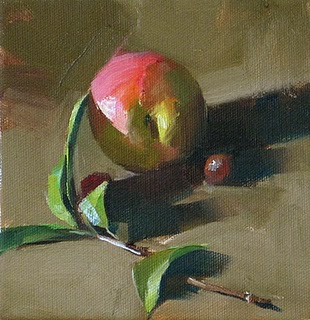 """Sweet Touch --- Sold"" original fine art by Qiang Huang"