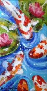 """Four Way Stop"" original fine art by JoAnne Perez Robinson"