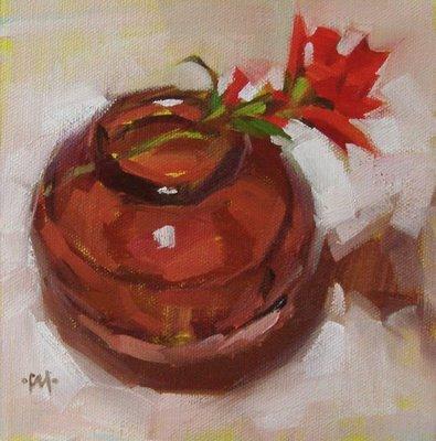 """""""Sideways"""" original fine art by Carol Marine"""