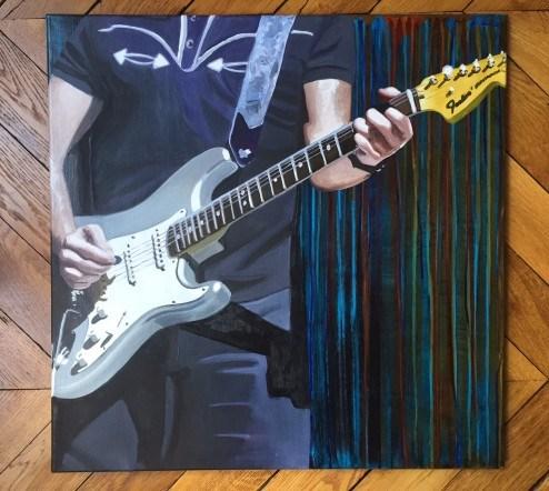"""Electric Edge"" original fine art by Andre Beaulieu"