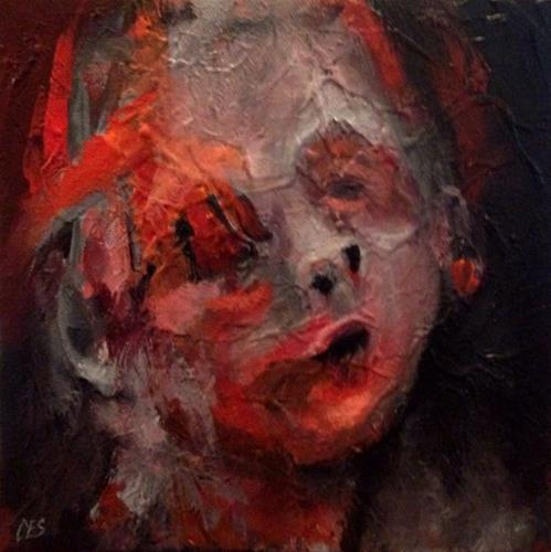 """""""Without Eyes You Cannot Cry"""" original fine art by ~ces~ Christine E. S. Code"""