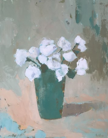 """Rustic Roses IV"" original fine art by Pamela Munger"