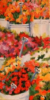 """""""Buckets Full"""" original fine art by JoAnne Perez Robinson"""