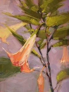 """Flora and Fauna"" original fine art by Laurel Daniel"