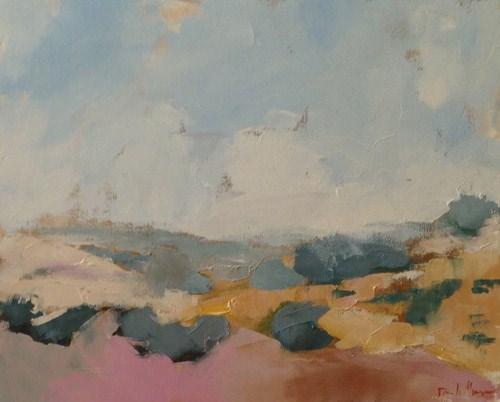 """""""Desert Gold"""" original fine art by Pamela Munger"""