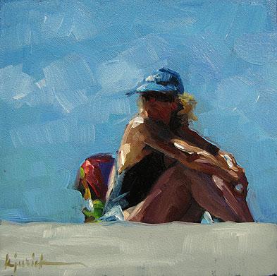 """Summer II"" original fine art by Karin Jurick"